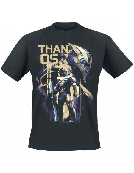 Avengers Endgame - Warlord Thanos T-shirt noir