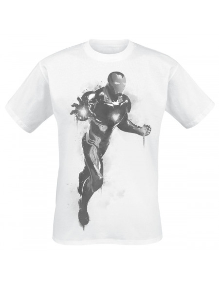 Iron Man Flight Mode T-shirt blanc
