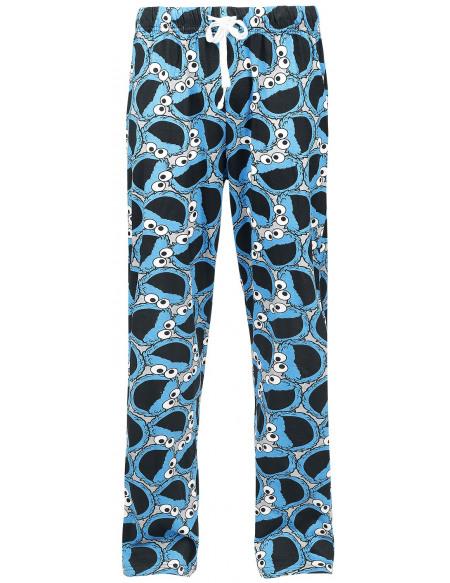 Sesame Street Macaron Le Glouton Bas de pyjama multicolore