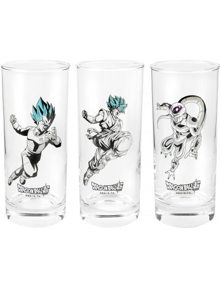 Dragon Ball Dragon Ball Super - Lot De Verres Set mugs en verre Standard