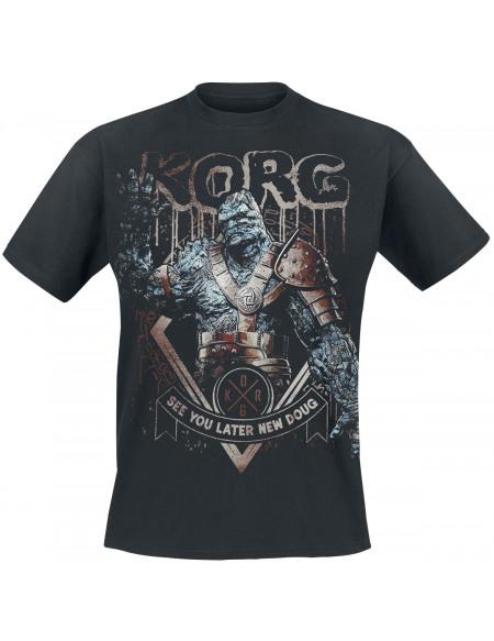 Thor Tag der Entscheidung - Korg - See You Later T-shirt noir