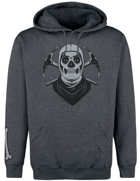 Fortnite Skull Trooper Sweat à capuche gris