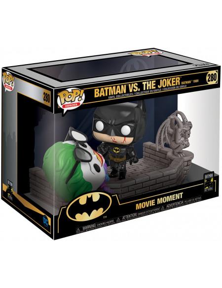 Batman 80th - Batman (1989) Batman vs Joker (Movie Moments) - Funko Pop! n°280 Figurine de collection Standard