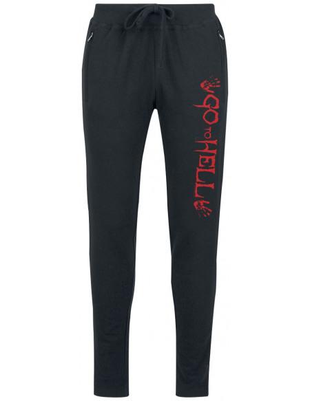 Go To Hell Pantalon de Survêtement Femme noir