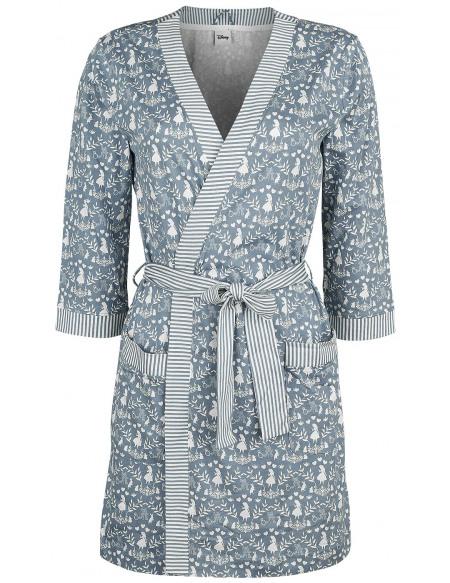 Alice Au Pays Des Merveilles Vive Maria - Robe De Chambre Robe de Chambre bleu/blanc
