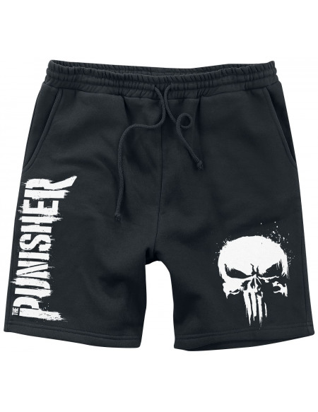 The Punisher Crâne - Spray Short noir