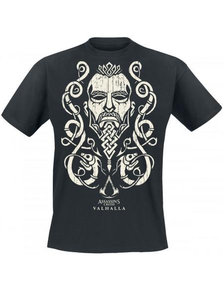 Assassin's Creed Assassin's Creed - Valhalla T-shirt noir