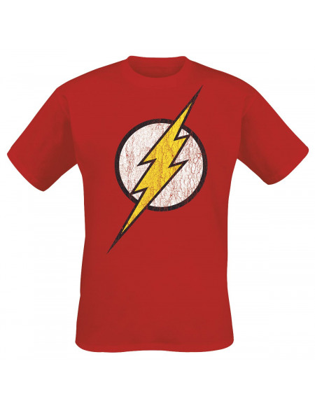 Flash Logo T-shirt rouge
