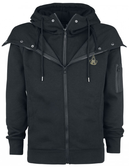 Assassin's Creed Origins - Symbol Sweat Zippé à Capuche noir
