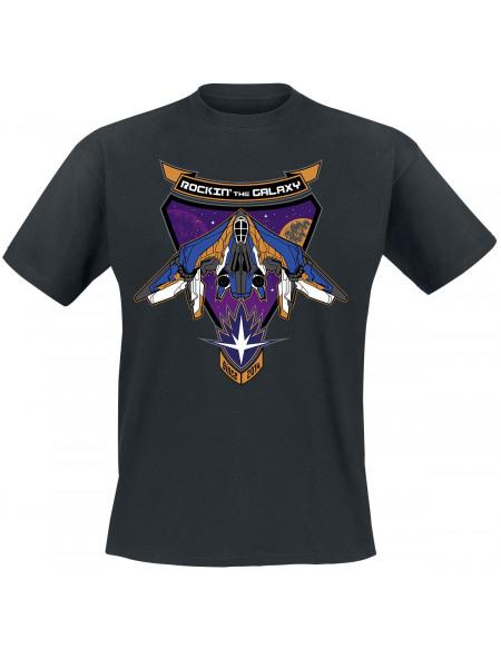Les Gardiens De La Galaxie Rocking The Galaxy T-shirt noir