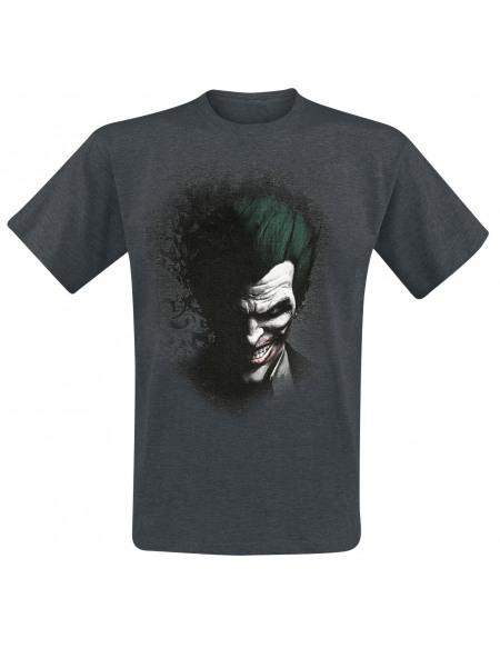 Batman The Joker T-shirt gris chiné
