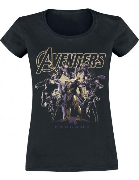 Avengers Endgame - Ready To Fight T-shirt Femme noir