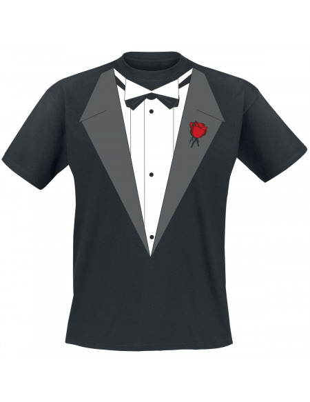 Smoking De Vito T-shirt noir