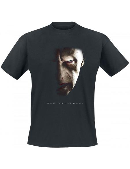 Harry Potter Voldemort T-shirt noir