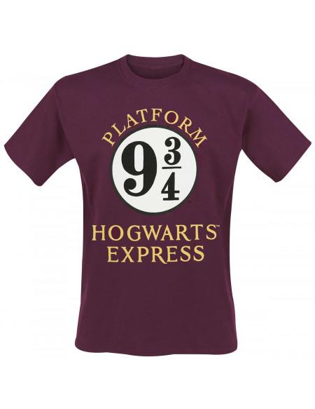 Harry Potter Poudlard Express T-shirt rouge