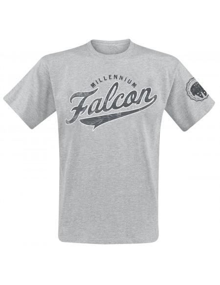 Star Wars Millennium Falcon T-shirt gris chiné