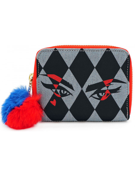 Birds Of Prey Loungefly - Harley Quinn Portefeuille multicolore