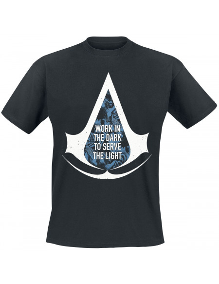Assassin's Creed Work In The Dark T-shirt noir