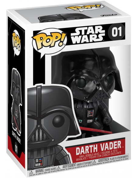 Star Wars Figurine Bobblehead En Vinyle Dark Vador 01 Figurine de collection Standard