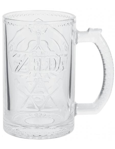 The Legend Of Zelda Bouclier D'Hylia Verre transparent