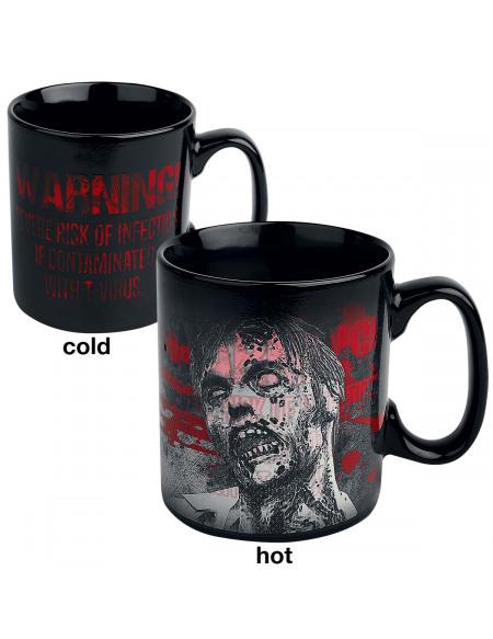 Resident Evil Mug Thermoréactif Infected Mug noir