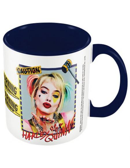 Birds Of Prey Warning - Harley Quinn Mug multicolore