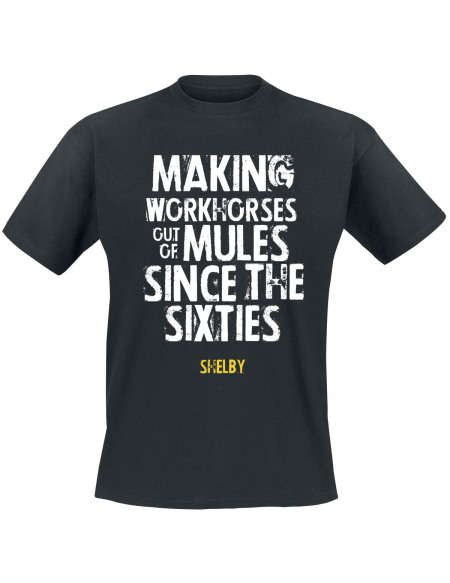 Shelby Since The Sixties T-shirt noir