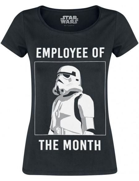 Star Wars Stormtrooper - Employee Of The Month T-shirt Femme noir