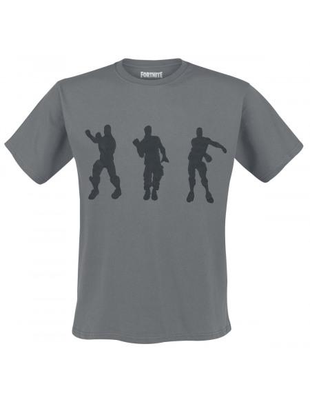 Fortnite Floss Dance T-shirt gris