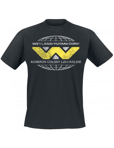 Alien Aliens - Wayland Yutani Corp T-shirt noir