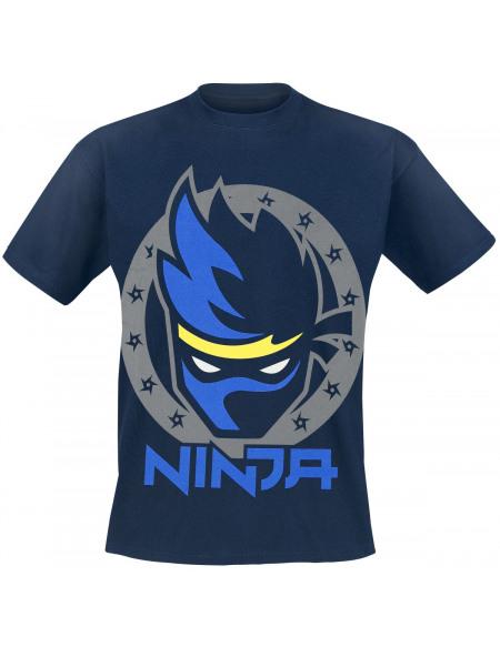 Ninja T-shirt marine