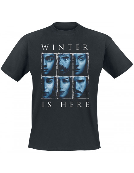 Game Of Thrones Winter Is Here T-shirt noir