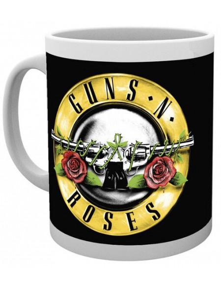Guns N' Roses Bullet Logo Mug blanc