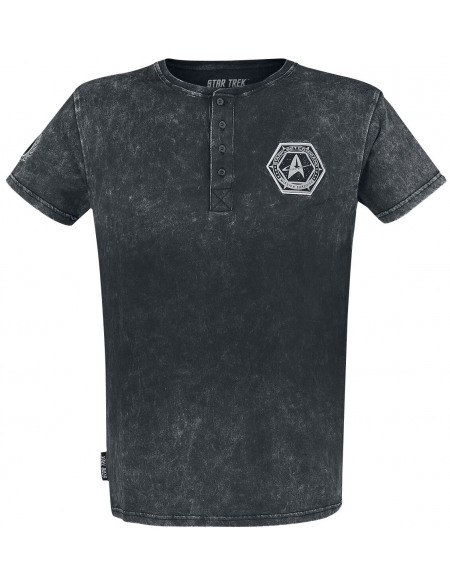 Star Trek T-shirt gris foncé