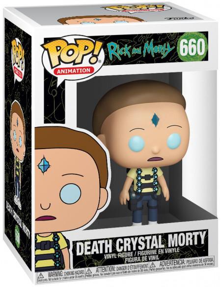 Rick & Morty Morty Avec Cristal De La Mort - Funko Pop! n°660 Figurine de collection Standard