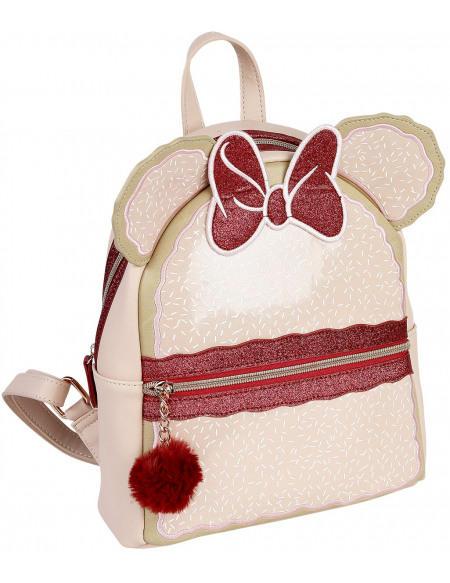 Mickey & Minnie Mouse Danielle Nicole - Sac à Dos Minnie Iced Vovo Sac à Dos rose clair