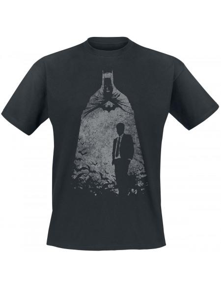 Batman Wayne T-shirt noir