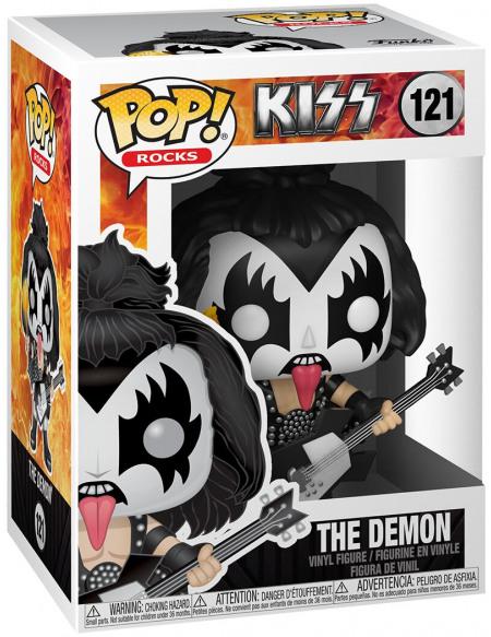 Kiss The Demon Rocks Viinyl Figure 121 Figurine de collection Standard