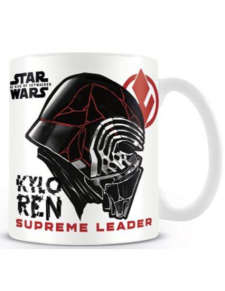 Star Wars Épisode 9 - L'Ascension De Skywalker - Kylo Ren - Supreme Leader Mug blanc