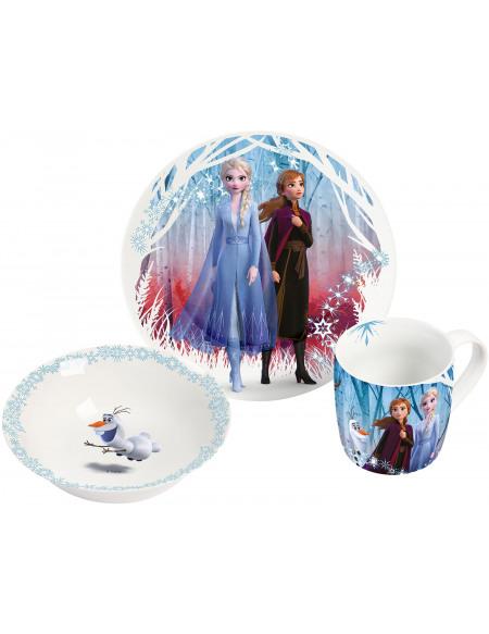 La Reine Des Neiges Set Petit-Déjeuner Set petit déjeuner multicolore