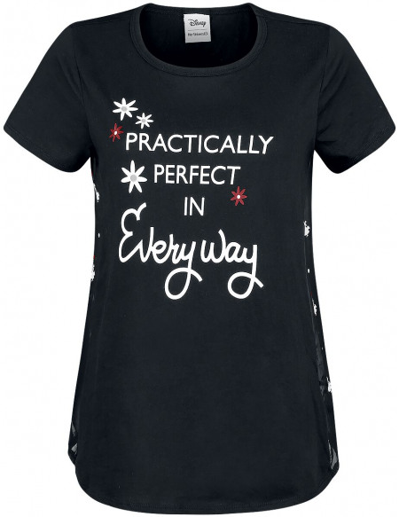 Mary Poppins Le Retour de Mary Poppins - Practically Perfect T-shirt Femme noir