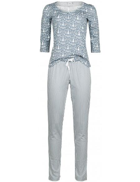 Alice Au Pays Des Merveilles Vive Maria - My Blue Wonderland Pyjama bleu/blanc