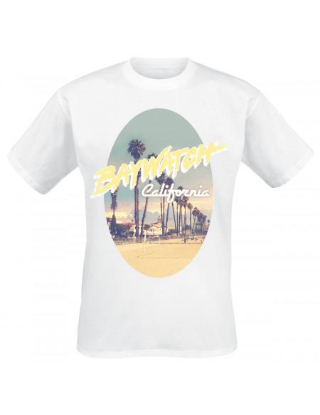 Baywatch California T-shirt blanc