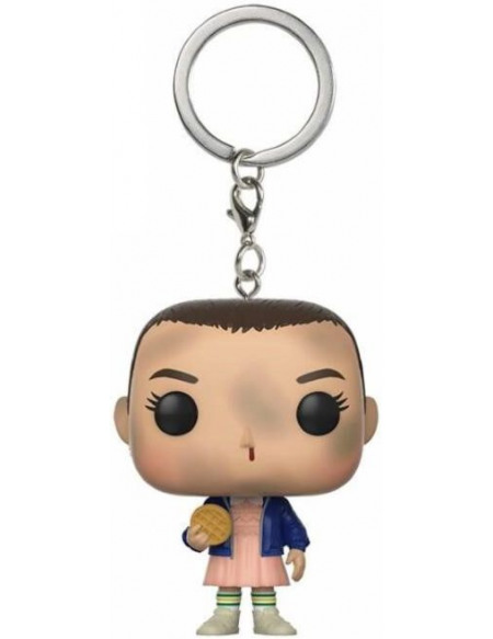 Stranger Things Eleven with Eggo Porte-clés Standard
