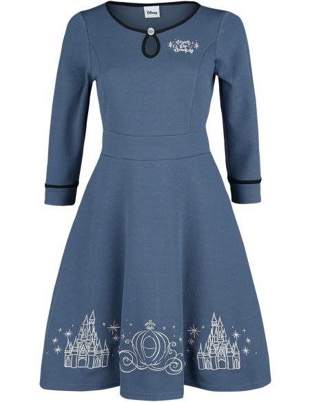 Cendrillon Robe bleu foncé