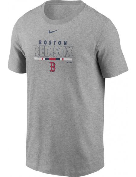 MLB Nike - Boston Red Sox T-shirt gris sombre chiné