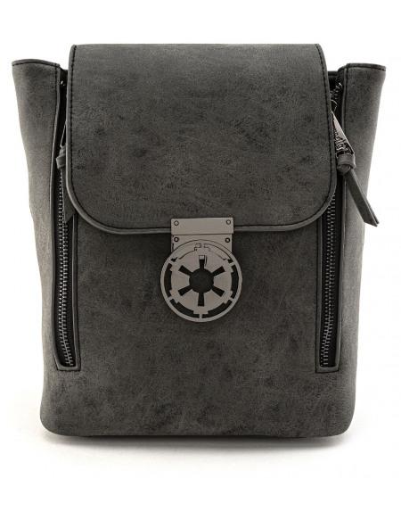 Star Wars Loungefly - Premier Ordre Noir Sac à Dos noir