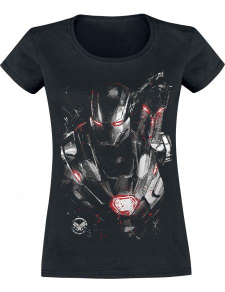 Avengers Endgame - War Machine T-shirt Femme noir
