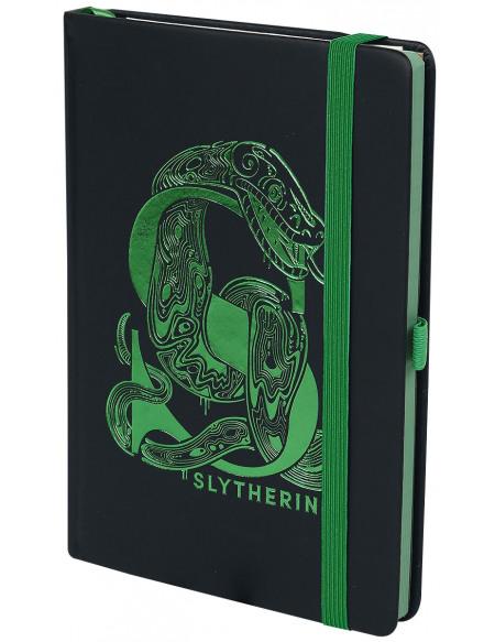Harry Potter Serpentard - Carnet Premium Cahier noir/vert