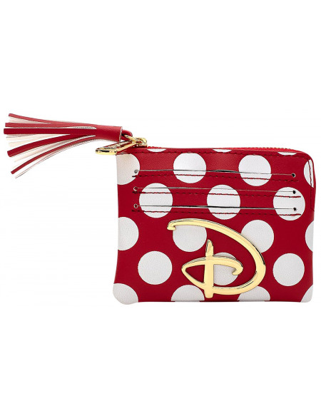 Walt Disney Loungefly - Pois Porte-cartes rouge/blanc